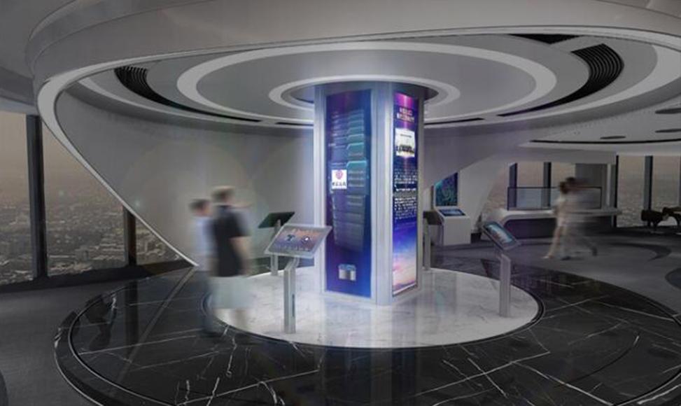 鑫滩金融地产商务展厅