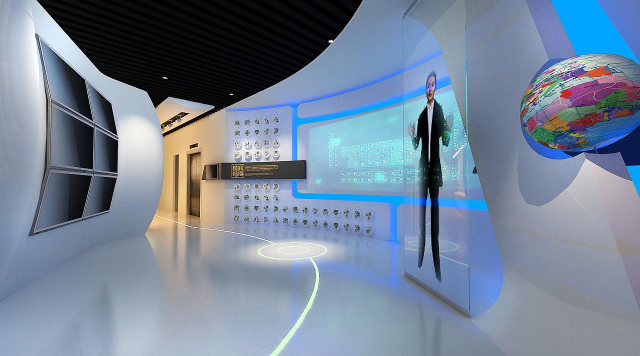 西部发展控股集团企业展厅