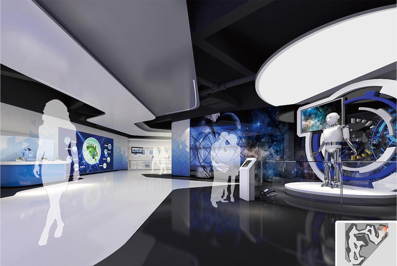 南宁智能时代科技展厅