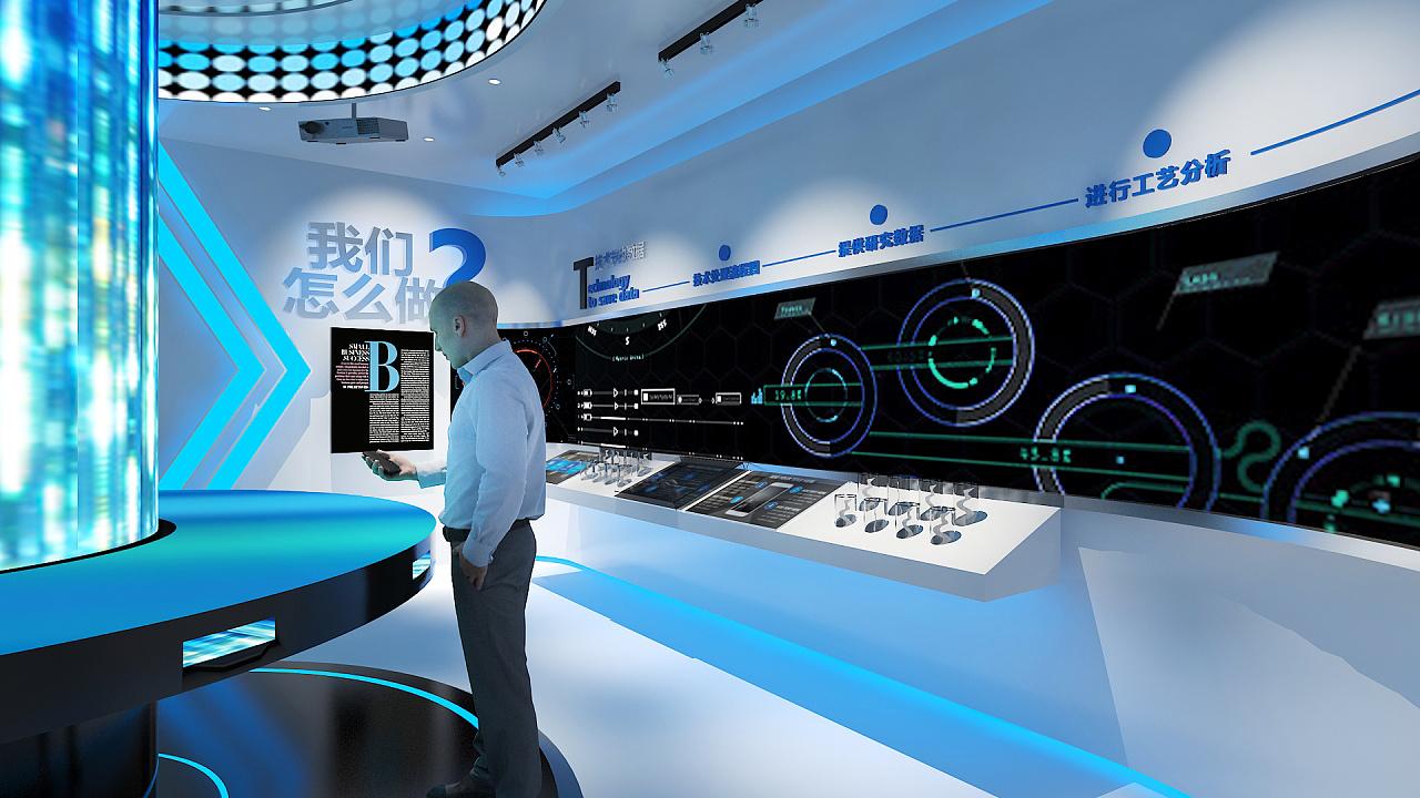 渗滤液厂工业展厅