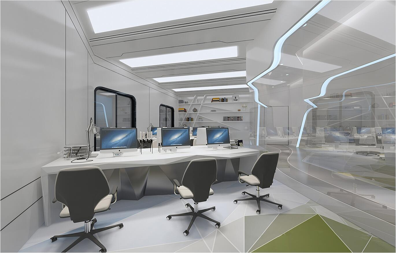中脉科技南昌分局公共区域与科技展厅