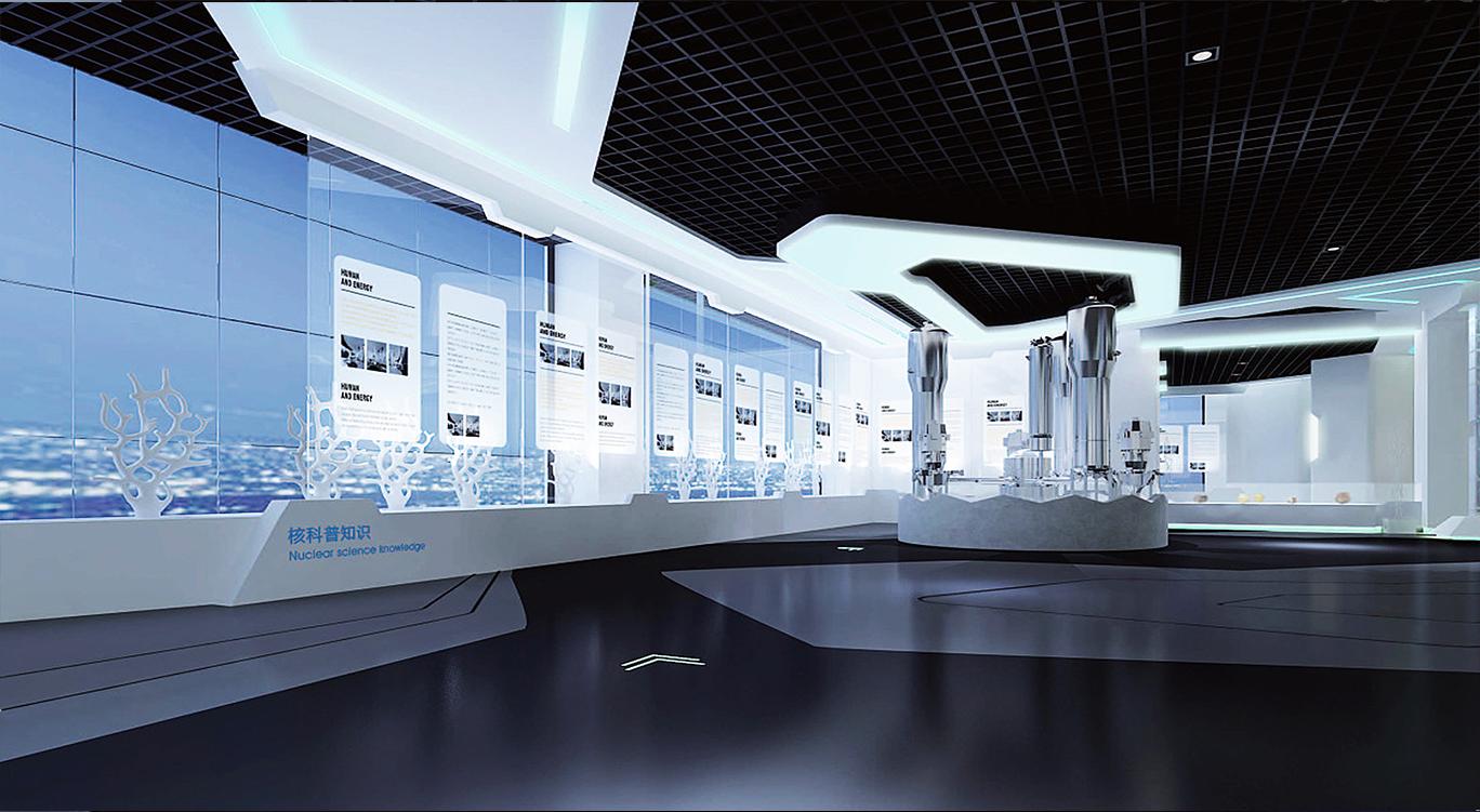 宁德核电站公关中心展厅