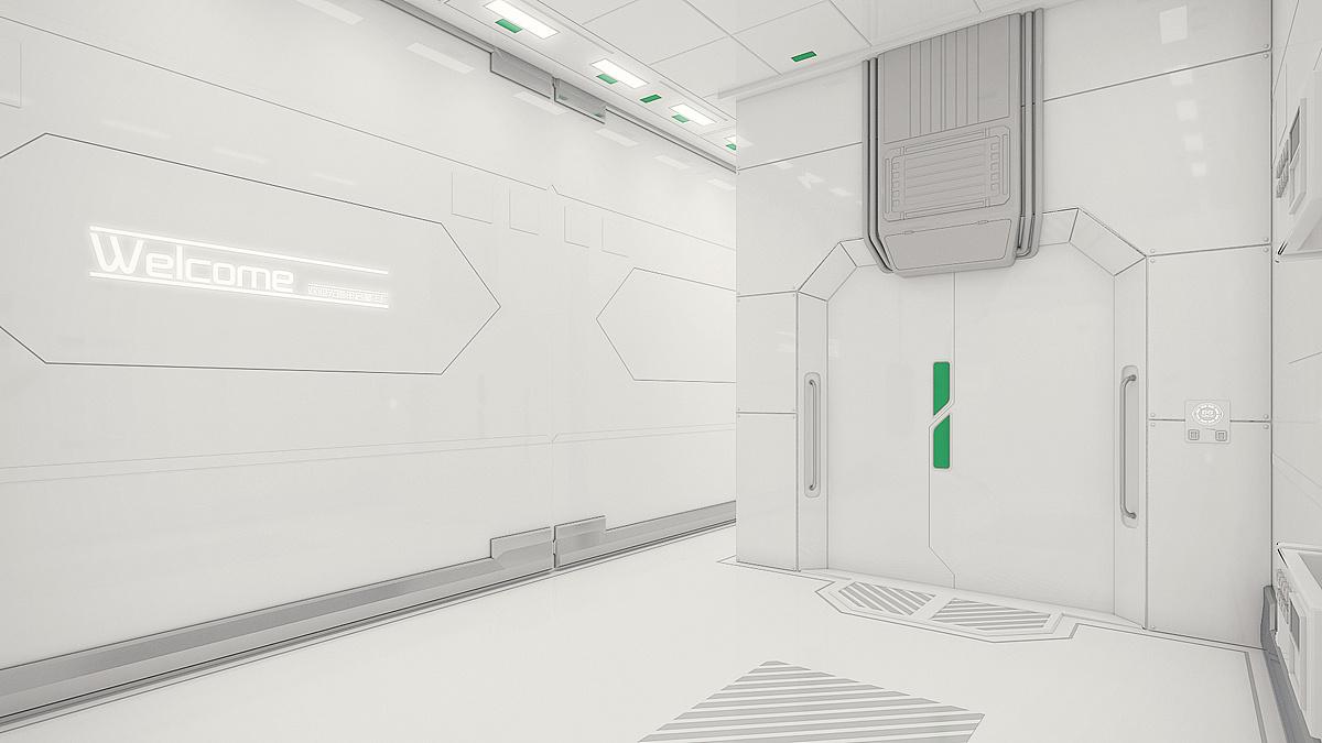 恒润申启梦企业科幻数字展厅