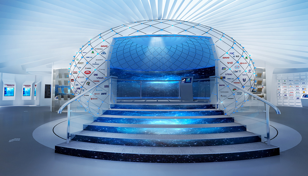 三河燕郊新技术创业服务中心企业展厅