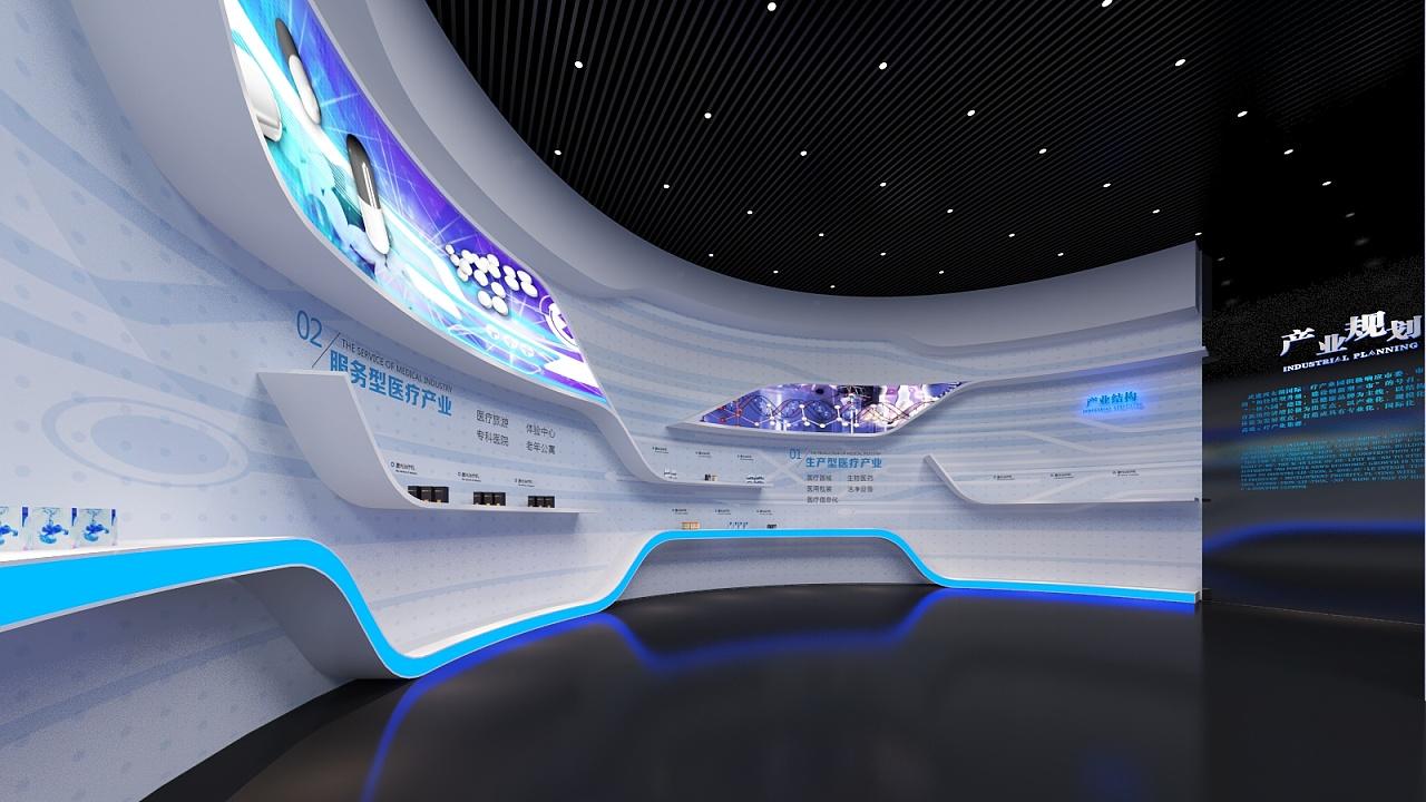 西太湖科技医疗产业园展示馆